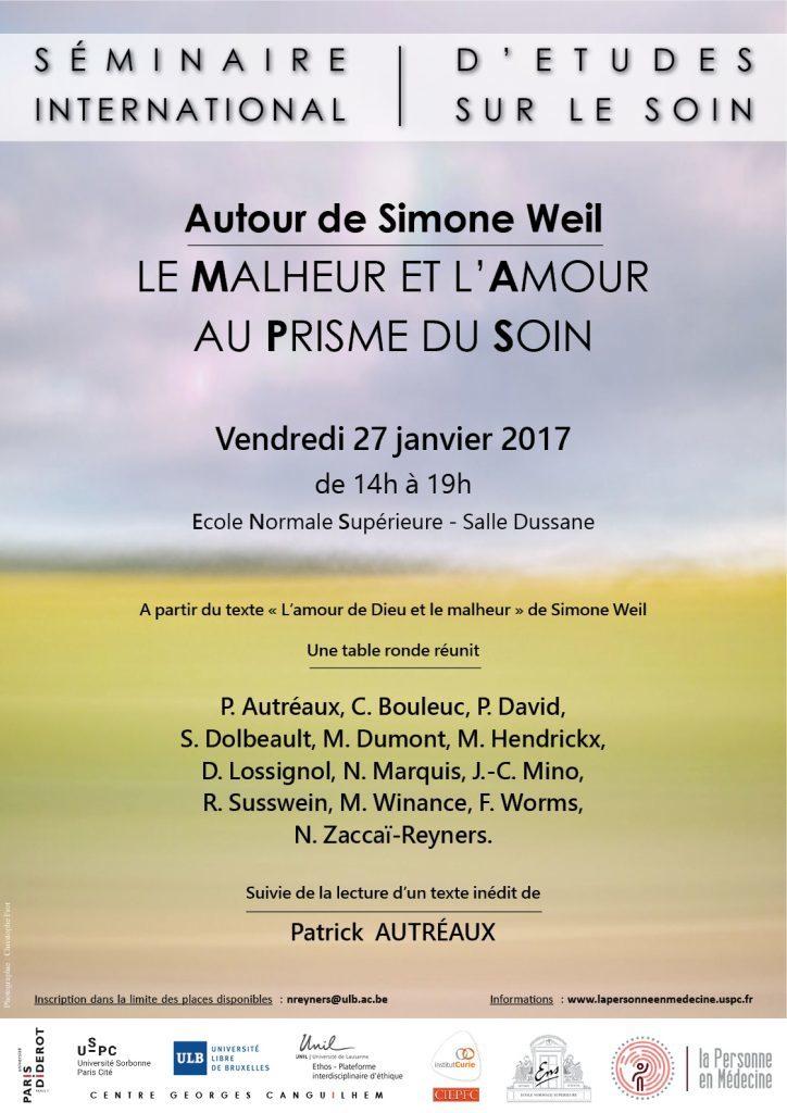 SIES autour de Simone Weil