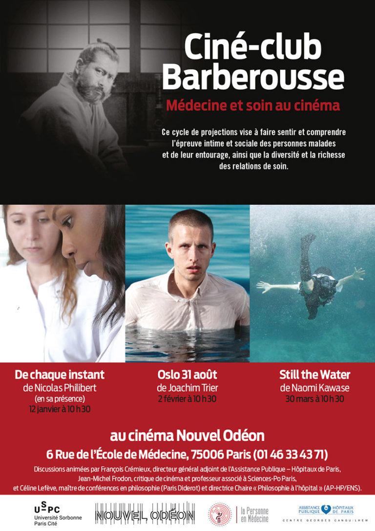 Ciné-club Barberousse – séance du 13 avril 2019 en remplacement séance du 12 janvier